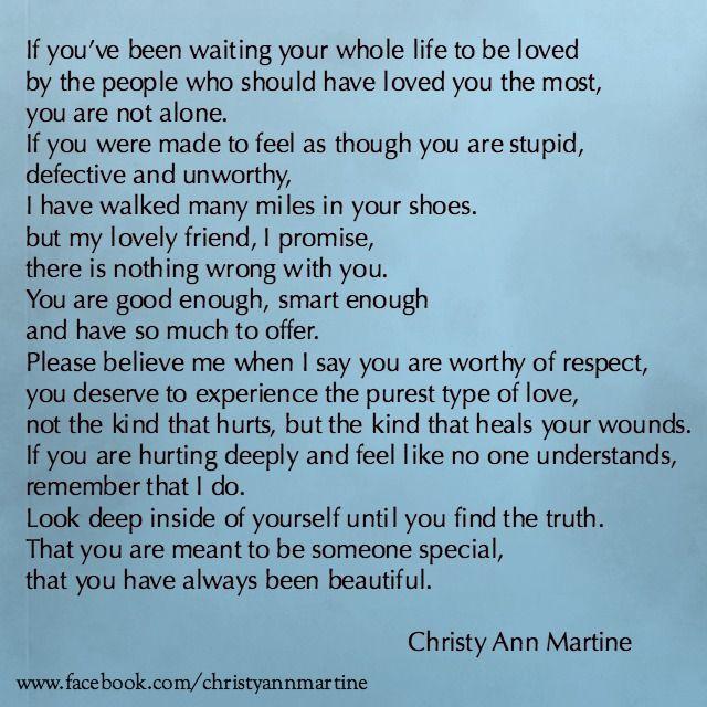 Verbal abuse poems
