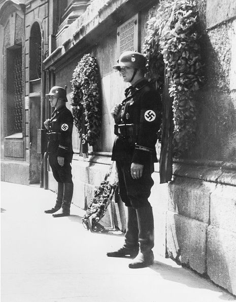 Feldherrnhalle in München 1937