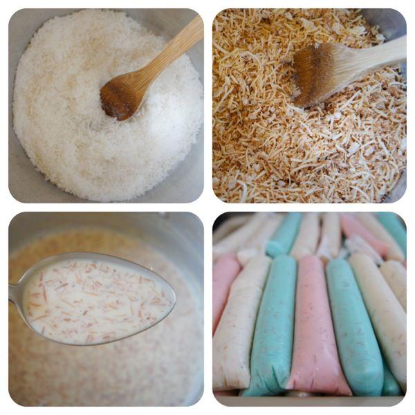 Geladinho de coco caramelizado | Vídeos e Receitas de Sobremesas
