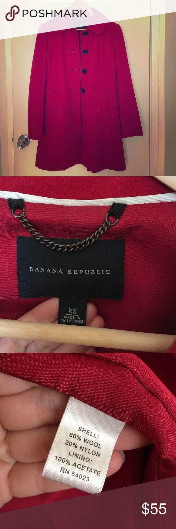 Banana Republic coat In excellent condition. Size xs. Banana Republic Jackets & Coats Blazers