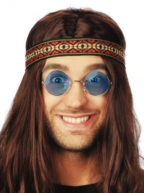 Okulary Lenonki w kolorze niebieskim. A może zdjęcie w stylu hippie?