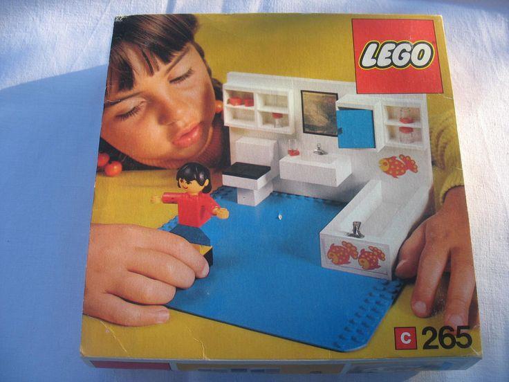Lego Badezimmer 70er Retro Nr. 265 Neu