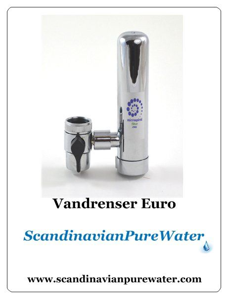 Euro Tap Cleaner  A very handy , efficient Mini-version of the G1 As well this screwed on the kitvhen Faucet, capacity cartridge is 3000 liter comes with one extra Cartridge