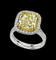 Canary diamond ring!! Yeah, this will do!