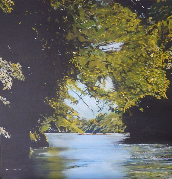 River take me home by KirstenMcIntoshArt on Etsy