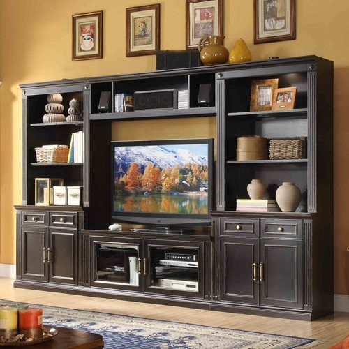 30 best media wall units images on Pinterest Wall units
