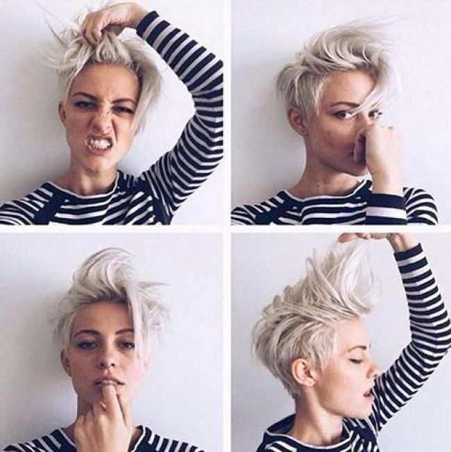 17 Best ideas about Coupes Courtes on Pinterest | Tuto coiffure ...