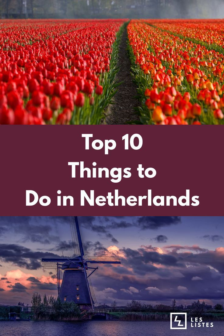 The Netherlands Is Famous For Its Flat Landscapes Canals Windmills Tulip Fields And Cycling Route Netherlands Travel Amsterdam Things To Do In Things To Do