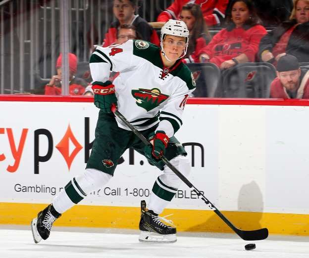 NHL youth movement: How the 2016-17 rookie class fared  -  April 22, 2017:      JOEL ERIKSSON EK, MINNESOTA WILD  -  We only saw a little bit of the rookie center this past season, as he was sent to play in his native Sweden after just nine games in Minnesota. But Eriksson Ek remains one of the Wild's bright young stars, especially since...  MORE...