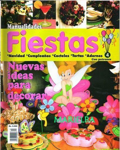 197 best images about revistas on pinterest - Manualidades para fiestas ...