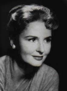 Frances Reid--Actress--Born 1914- Died 2010--- Played Alice Horton on soap opera Days of Our Lives from 1965-2007