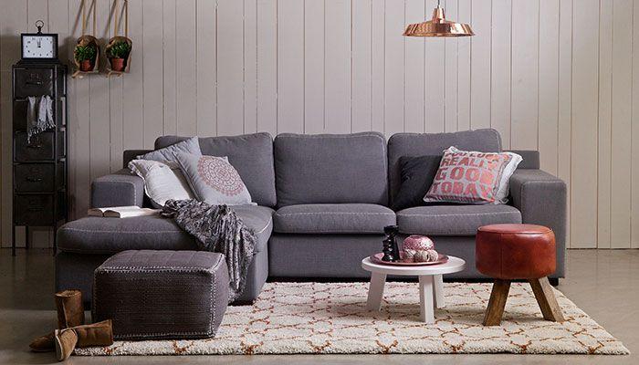 Banken fauteuils meubelen karwei woonkamer pinterest fauteuils banken en lambrisering - Deco blauwe kamer ...
