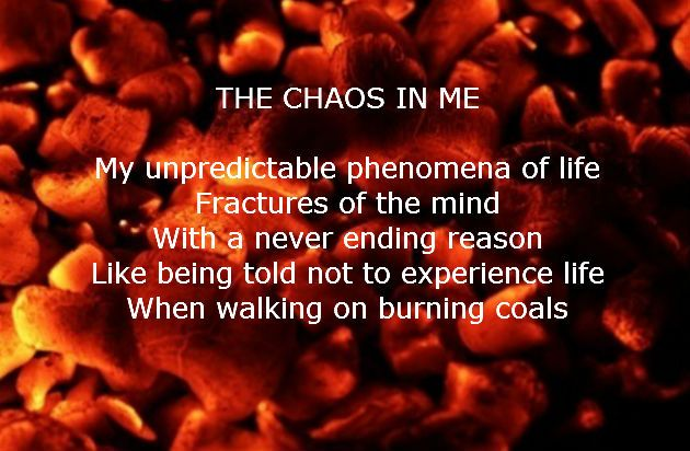 THE CHAOS IN ME - Request feedback If you Dare