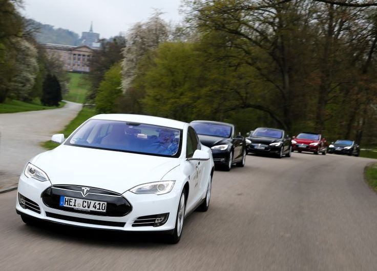 #Tesla #Supercharger Rallye mit #ModelS #P85D gab Einblicke #Kassel #Elektroauto