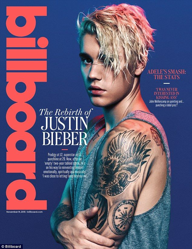 'It nearly destroyed me': Justin Bieber reveals his struggle with stardom in a new cover story for Billboard magazine, admitting that his life is not what it appears to be