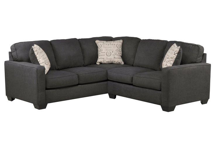 Aleyna Charcoal Loveseat 1660135  Ashley Furniture  AFWcom