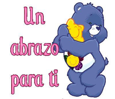 Un abrazo para ti oso amoroso