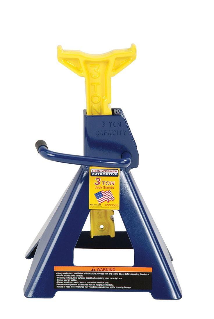 HeinWerner HW93503 Blue/Yellow Jack Stand 3