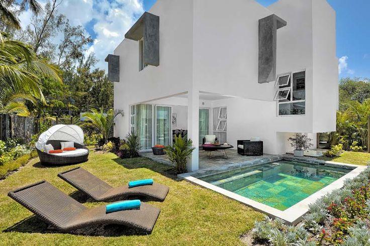 Villa Solena Bay design contemporain, piscine privee ile Maurice