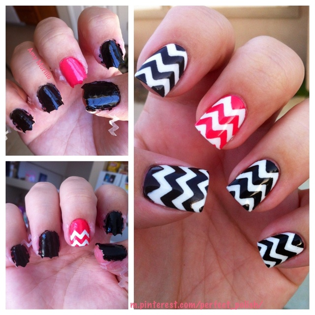 Yay for new nails!!!!!  <3 fashionable nails to go with my new Chico outfits!