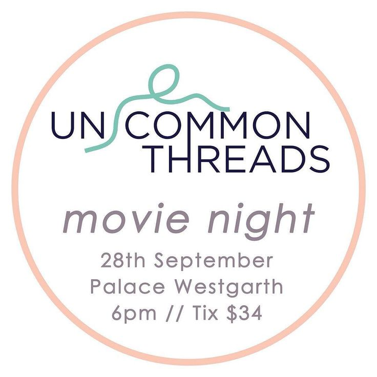 Hey lovely people! My grad collective @un.commonthreads is hosting a fundraiser movie night next week to help fund our grad show! Included in the ticket price there is a screening of 'Battle of the Sexes' with Emma Stone and Steve Carrell drinks and delicious nibblies PLUS there'll be a fabulous raffle with goodies up for grabs from myself @cassbyrnes @nonormalgirls_ and more! Head to @un.commonthreads and follow the link in the bio there to grab a ticket  come support us and have a fab…