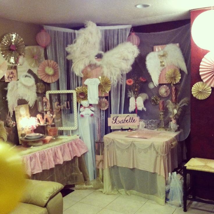 angel baby shower baby showers april showers future baby half birthday