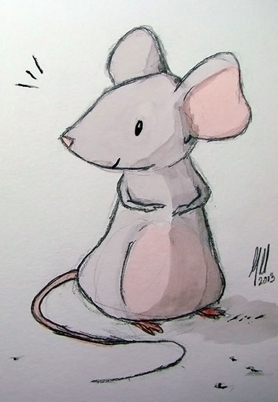 Field mouse sketch images galleries for Field mouse cartoon