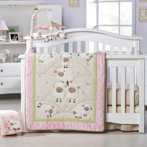 Best A Little Lamb Burlington Baby Depot 8 Pc Bedding Set 400 x 300