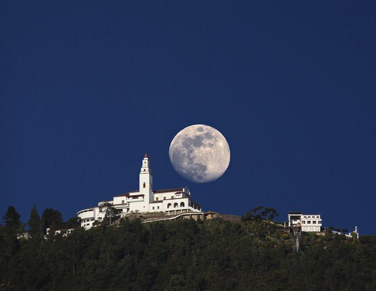 Bogotá Moon by FERNANDO CANO BUSQUETS, via 500px
