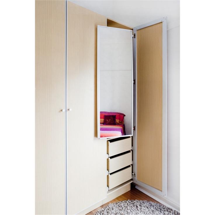 Best 125 Flatpax Pullout Wardrobe Mirror W 63104 Bunnings 400 x 300