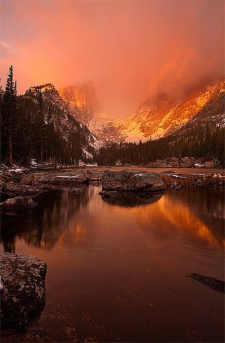 Dream Lake - Rocky Mountain National Park, Colorado