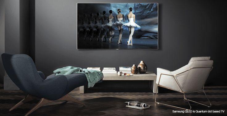 Teste QLED TV fra Samsung − en ny innovasjon innenfor TV-verdenen! Samsung har samlet alle nye innovasjoner under tre Q-er – Q Picture, Q Style og Q Smart.