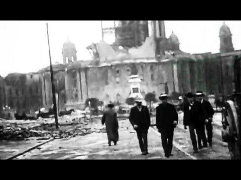 "1906 San Francisco Earthquake Damage: ""Riding Down Market Street"" 1906: http://youtu.be/uDQ8ZliP1A4 #SanFrancisco #earthquake #MarketStreet"