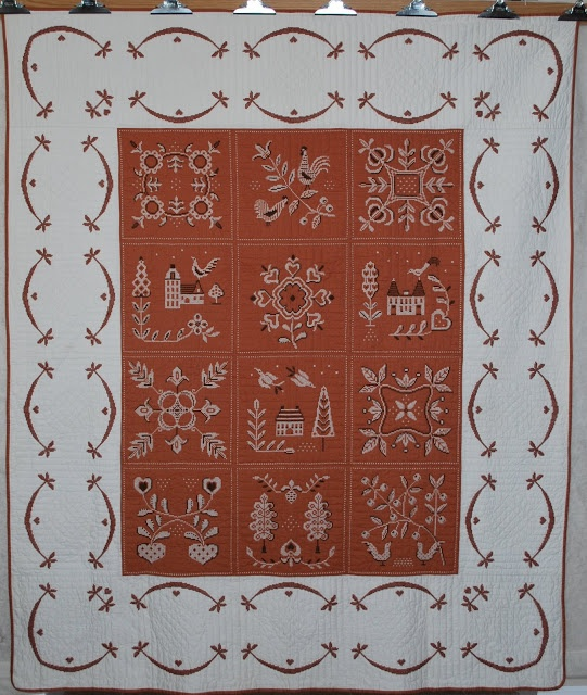 Quilts-Vintage and Antique | Embroidery | Pinterest