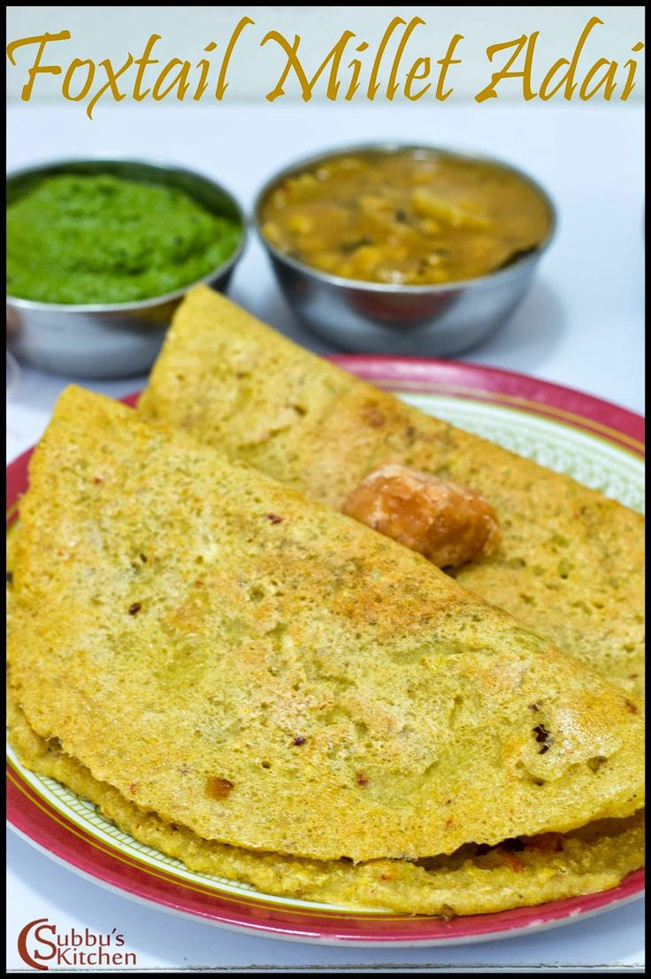 204 best recipehealthy images on pinterest book books and thinai vegetable adai recipe foxtail millet vegetable adai recipe millet recipesbreakfast dishesindian forumfinder Images