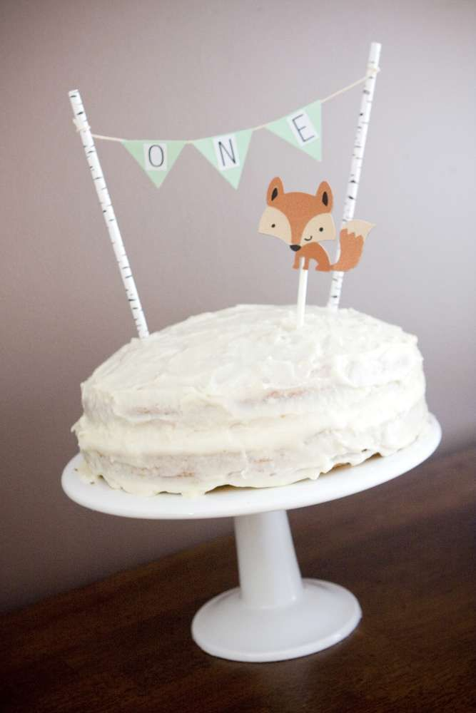 Mr. Foxy Fox Birthday Party Ideas | Photo 2 of 22 | Catch My Party