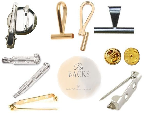 brooch pin backs | CRAFT*ic ♥ supplies ⏎