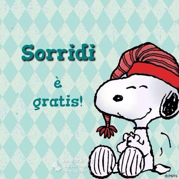 Sorridi è gratis  ~ A smile is FREE!!!