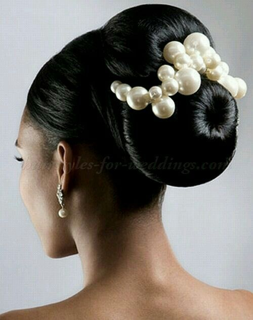 high bun hair styles fabulous a great way to add pearls to a bun up do 3227