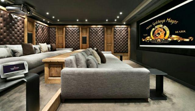 Salle de cinéma de la villa de vacances « Edelweiss »