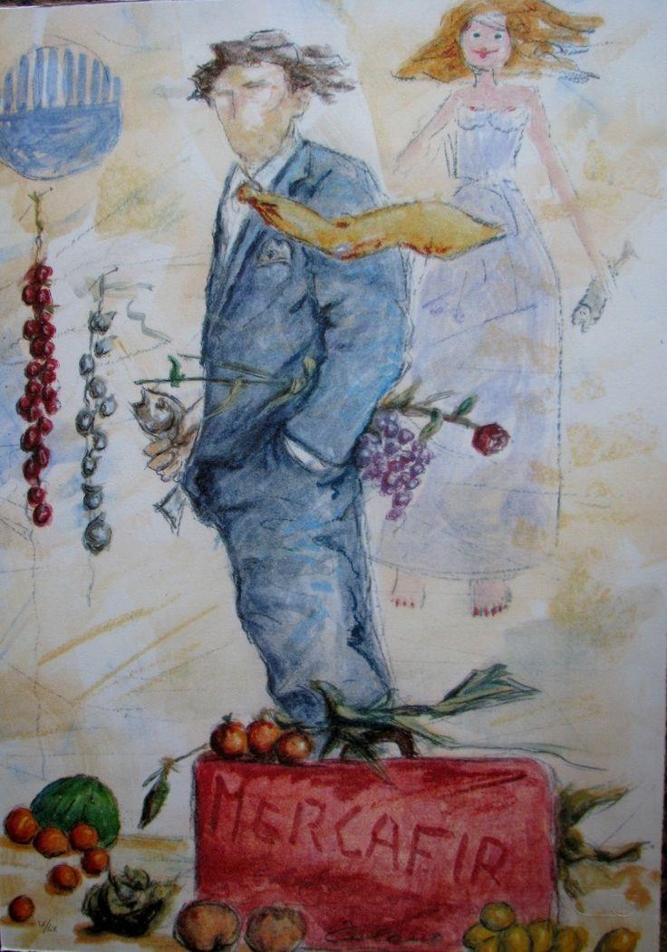 Partenza di un mercante, Giampaolo Talani, http://www.galleria-galp.it/shop/index.php/artisti/giampaolo-talani/partenza-di-un-mercante.html