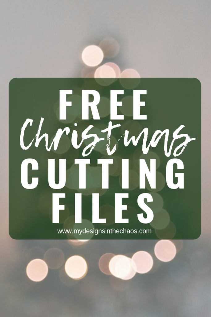 Download Free Christmas SVG Files | Christmas svg, Cricut, Free