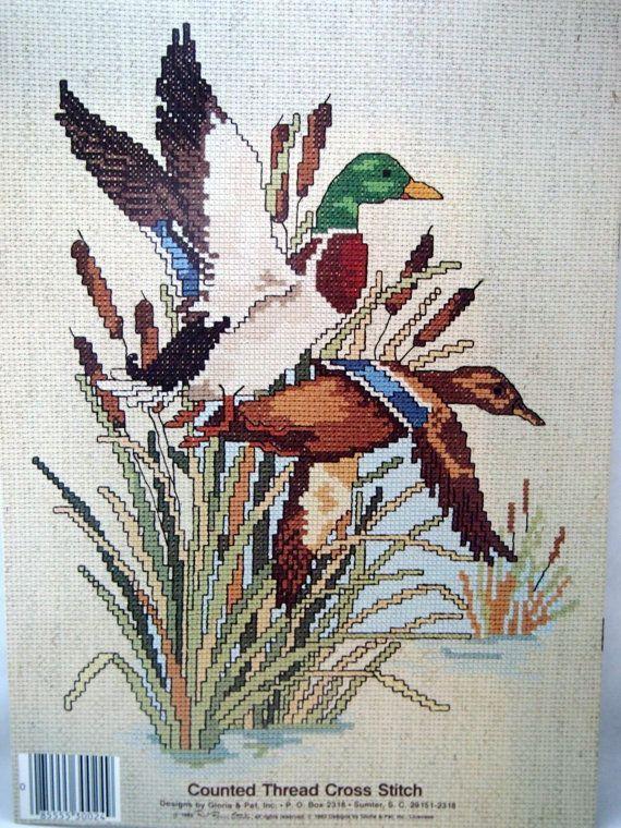 It's Duck Season Vintage Cross Stitch Pattern by NeedANeedle, $4.75