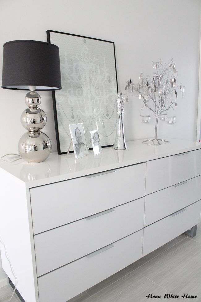 B&W Hallway - Home White Home