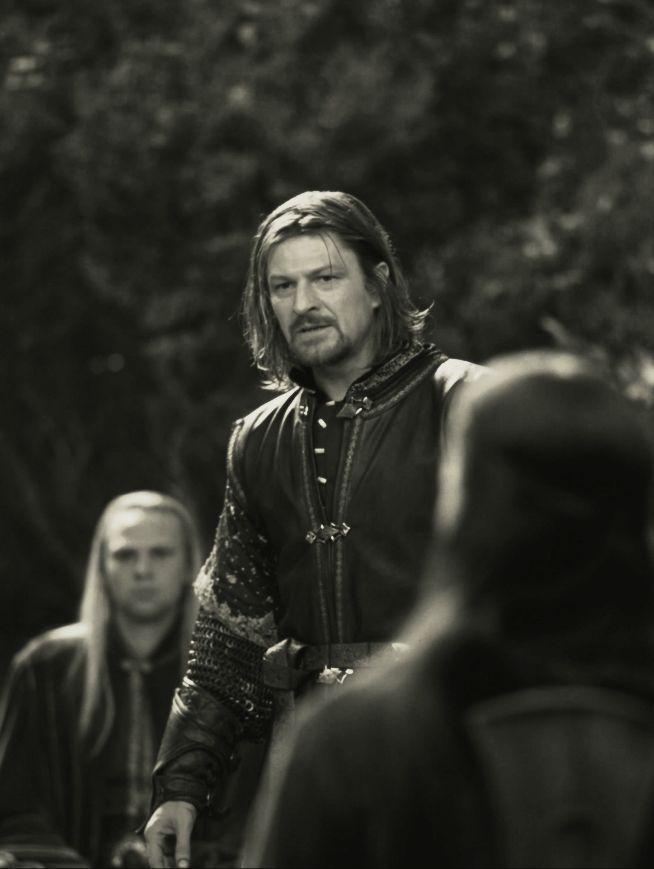 Boromir, Son of the Lord Denethor, Captain of the White Tower, Gondor.