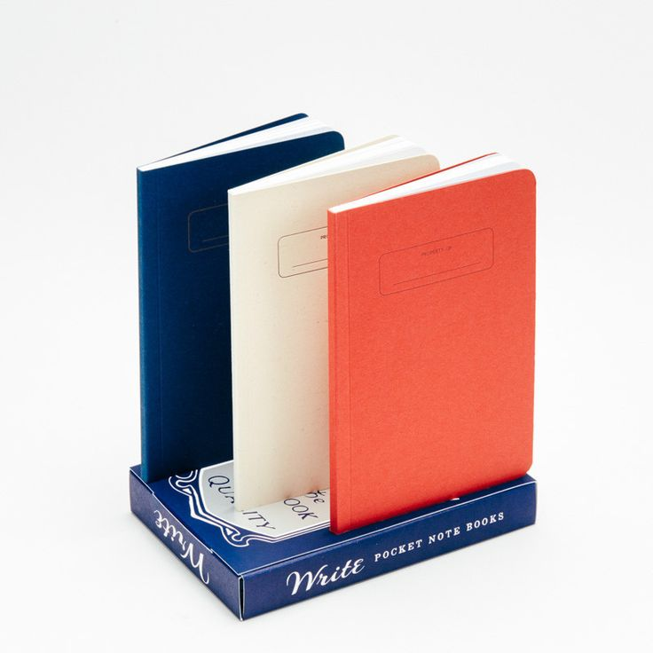 Pocket Notebooks (3-pack)