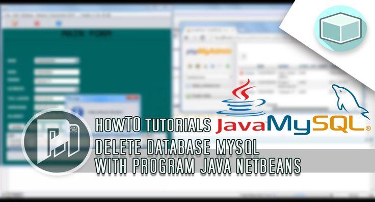 Java Beginners Tutorial - Delete Database Mysql with Program Java - Project Masunduh2