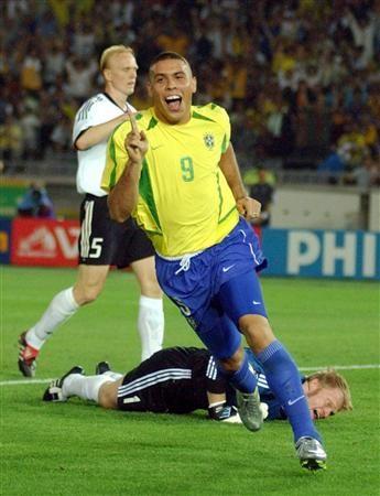 Gol de Ronaldo - Brazil 2 vs 0 Germany - FIFA World Cup Final (Korea & Japan 2002)
