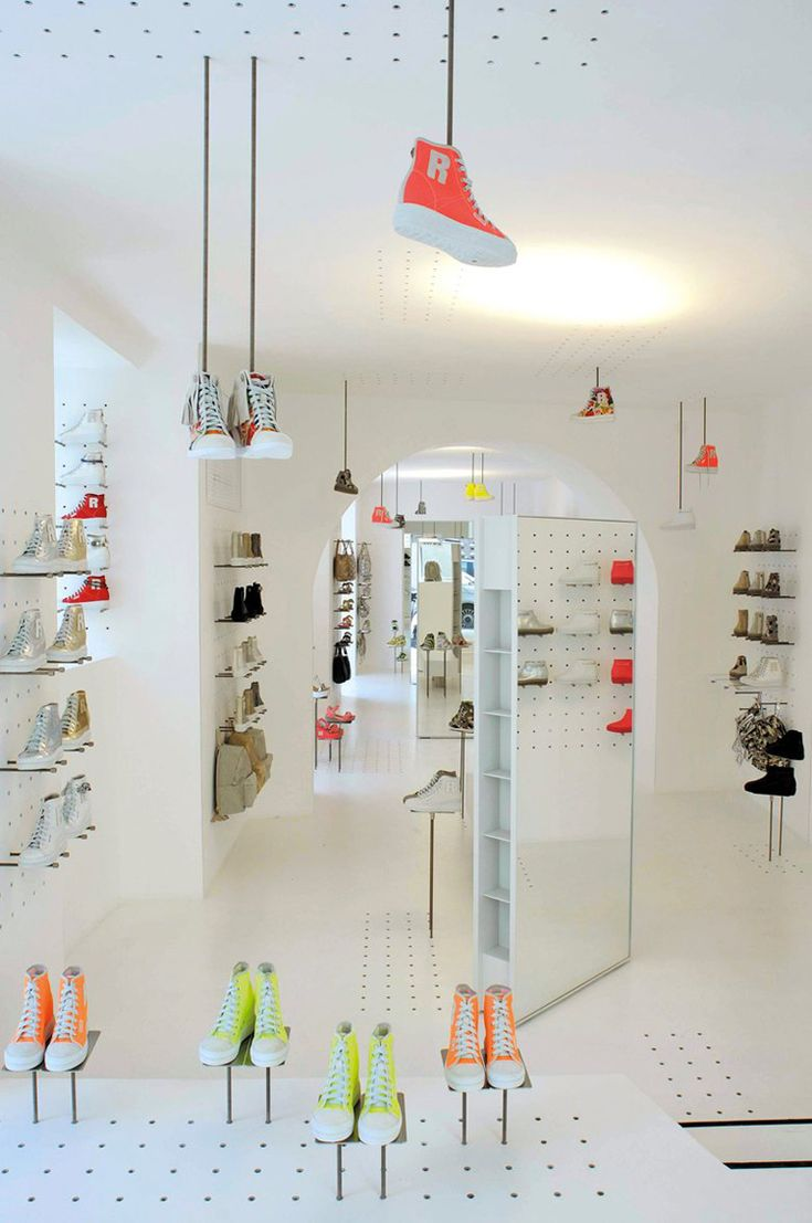 Ruco Line Flagship Store In Rome By Jean Nouvel