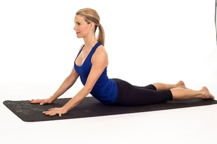 the yoga Cobra Stretch for lower back pain